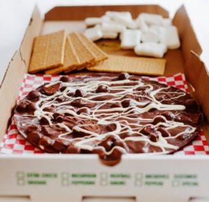 smores s more smore chocolate pizza