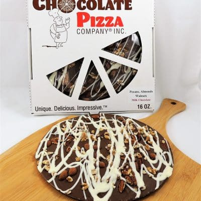 pecans almonds walnuts chocolate pizza