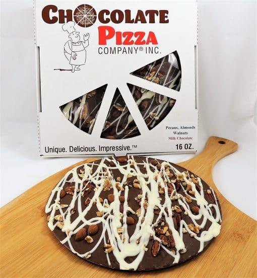 pecans almonds walnuts chocolate pizza