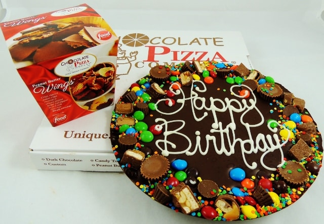 Happy Birthday Pizza | chocolate birthday gifts with style