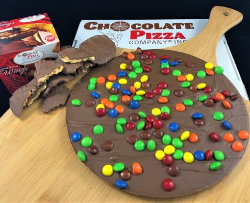 candy top chocolate pizza combo