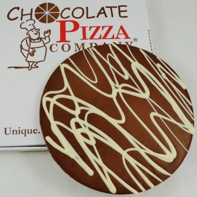 Plain Chocolate Pizza