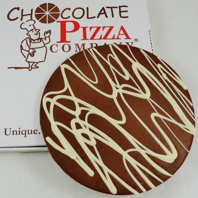Plain Chocolate Pizza