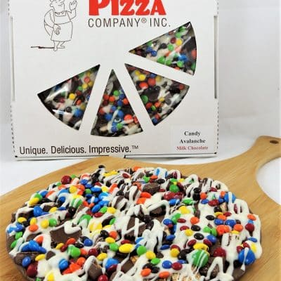 chocolate pizza candy avalanche