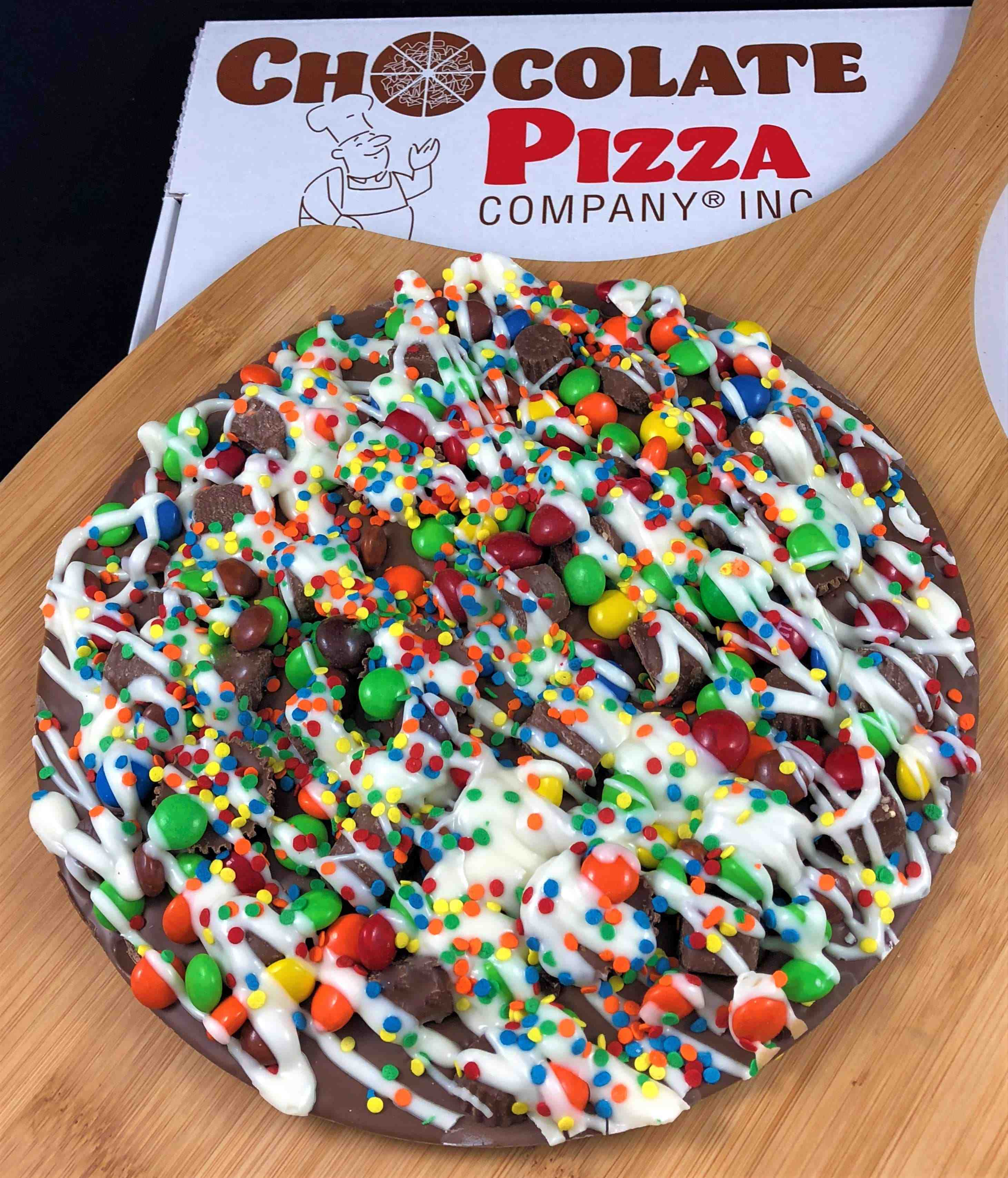 Supreme Chocolate Pizza Candy Avalanche