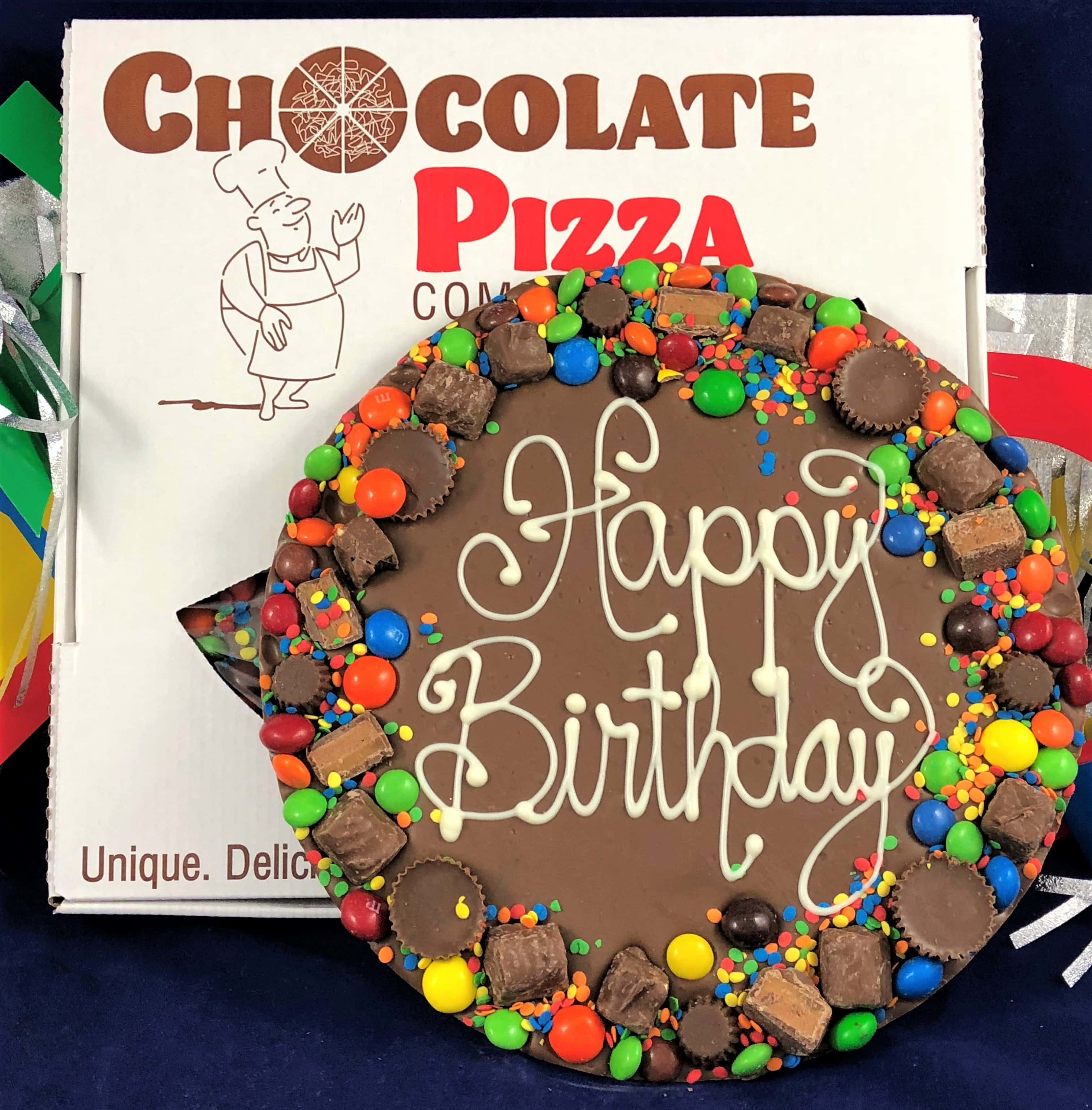 Birthday Gifts Chocolate Pizza