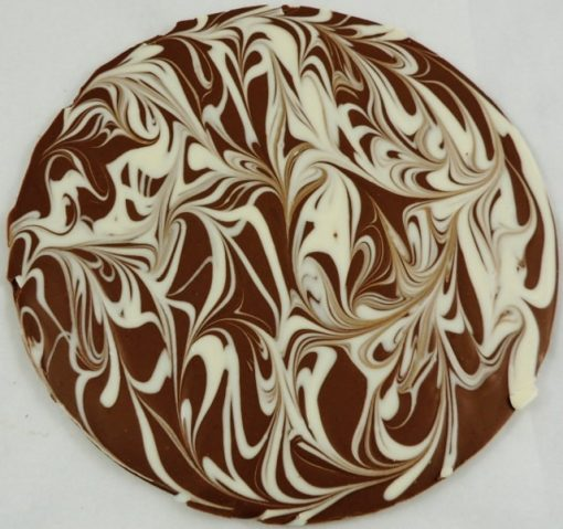 Hazelnut Swirl Chocolate Pizza