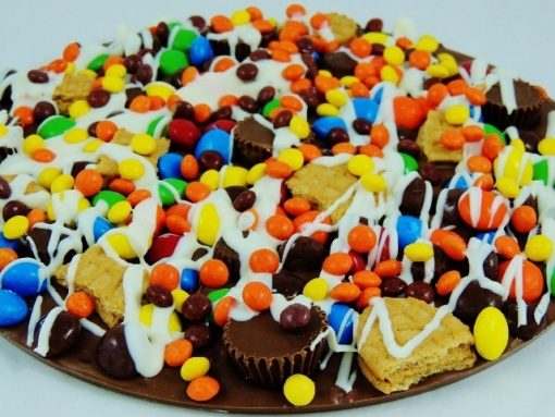 chocolate pizza peanut butter avalanche