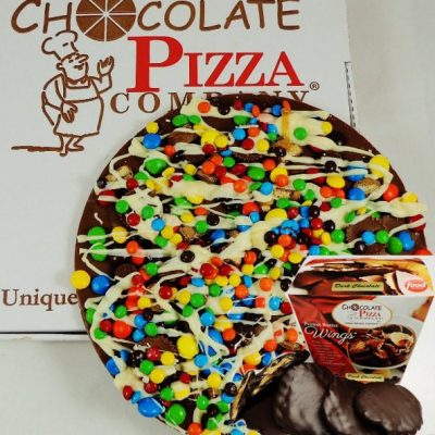 Chocolate Pizza Combo Avalanche with Peanut Butter Wings