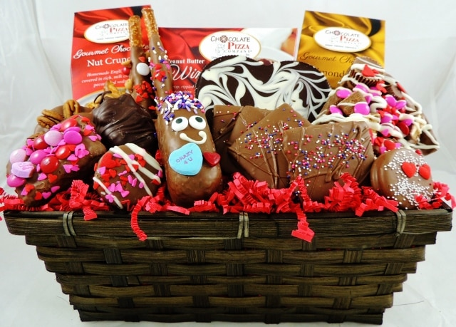 All My Love Valentines Gift Basket Chocolate Heaven