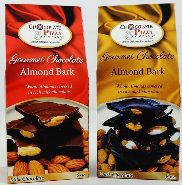 how to make dark chocolate almond bark