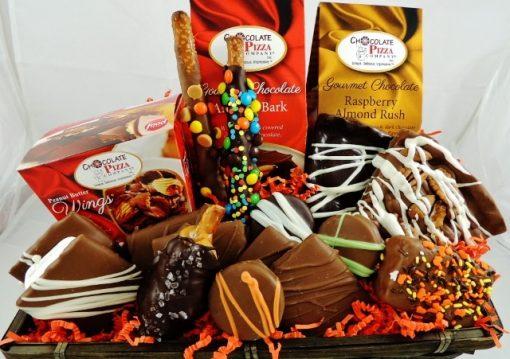 autumn leaves gift basket