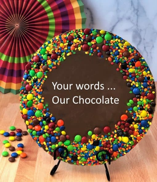 build your own chocolate pizza customize