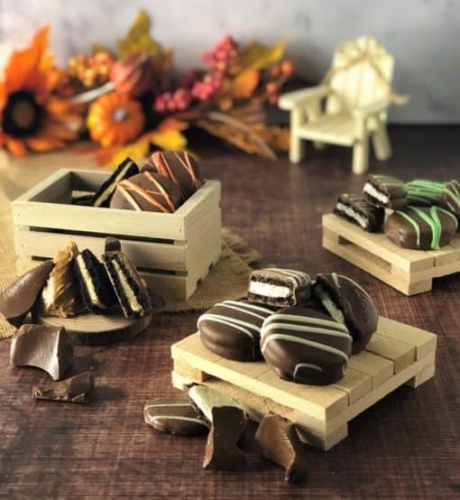 chocolate dipped cookies Oreos
