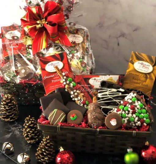 wish come true gift basket of chocolates
