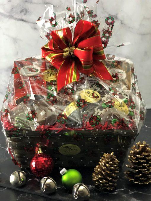 chocolate basket is wish come true