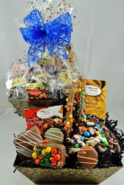 Blizzard Avalanche Chocolate Basket