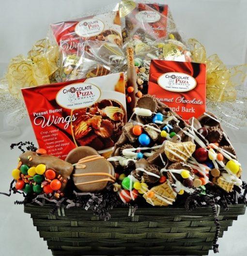 premium chocolate basket