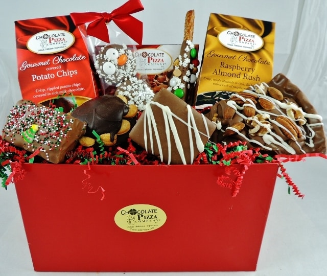 Christmas | handcrafted gourmet gift ideas from Chocolate Pizza ...