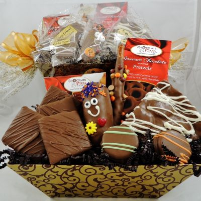Chocolate Smiles Basket