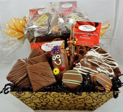 Chocolate Smiles Basket