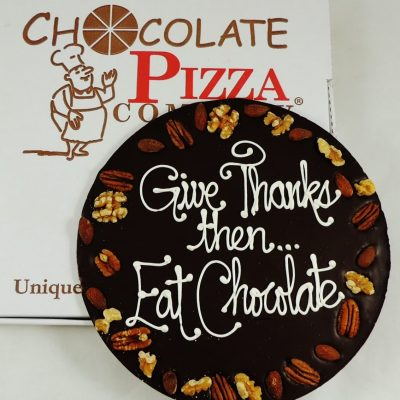 give thanks eat chocolate