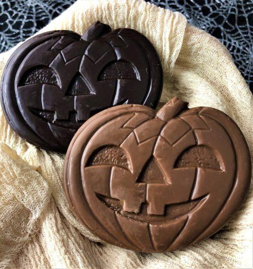 chocolate pumpkins
