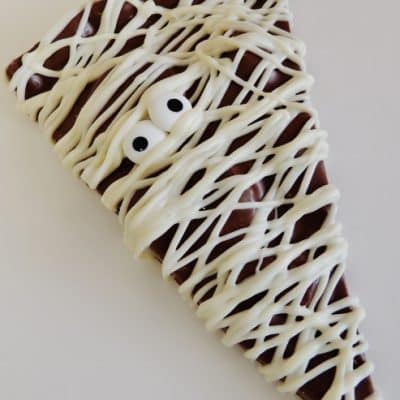 chocolate mummy slice