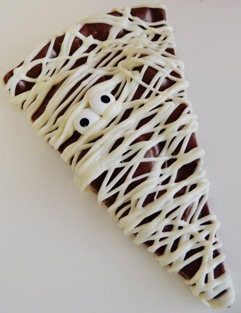 chocolate mummy slice