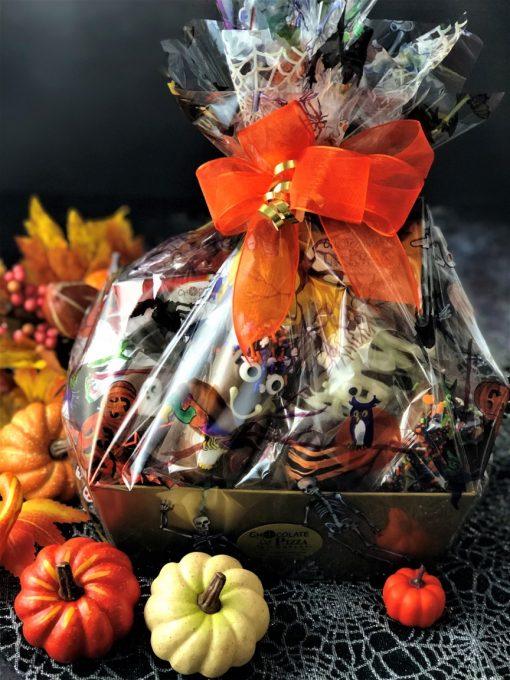 Halloween Treats chocolate gift basket