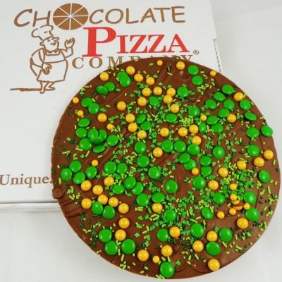 lucky for you chocolate pizza