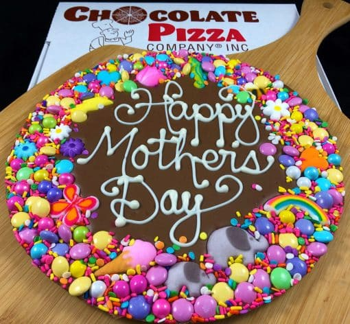 Mothers Day Chocolate Pizza