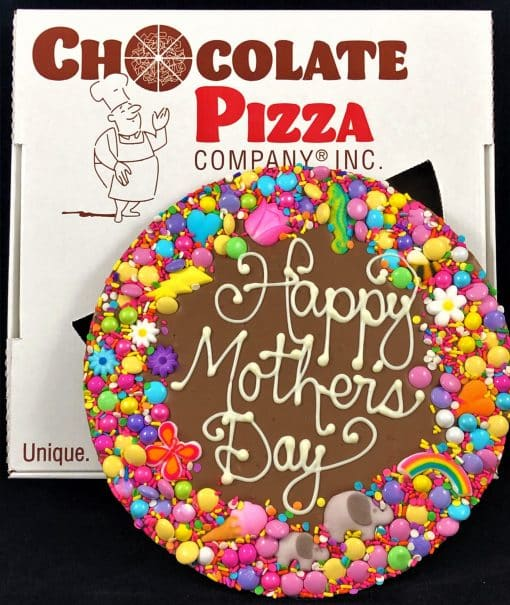 Happy Mothers Day Chocolate Pizza