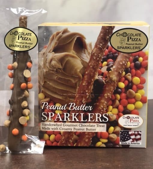Peanut Butter Sparklers individually wrapped and box