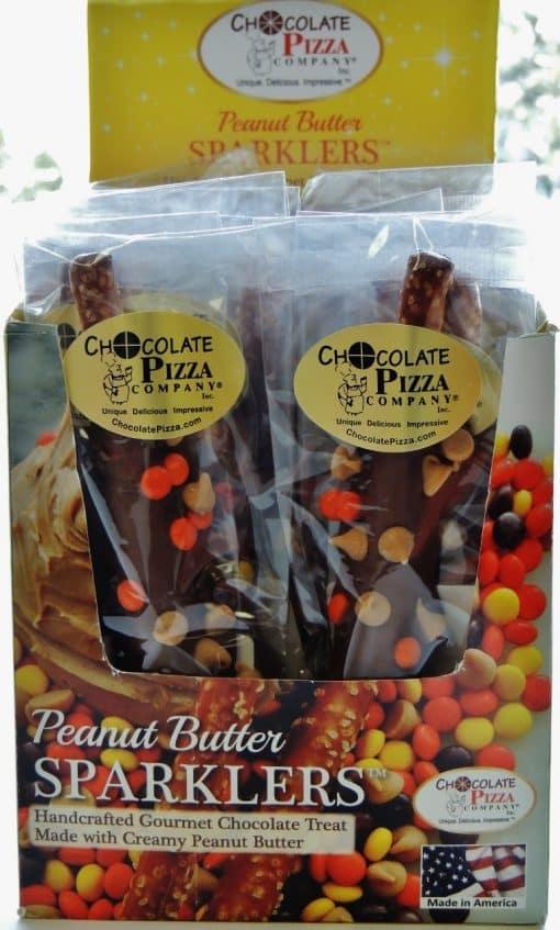 peanut butter sparklers