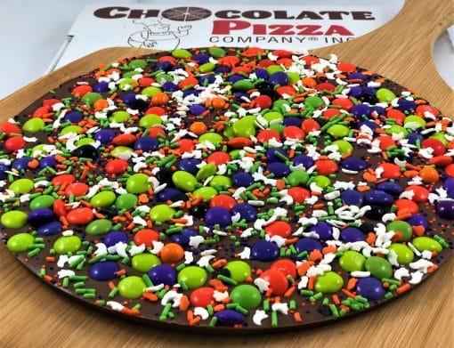 spooky chocolate pizza Halloween