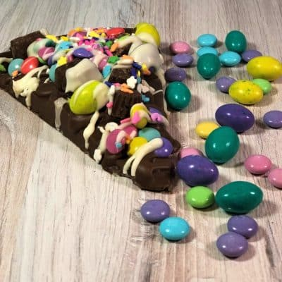 spring Chocolate Pizza Slice avalanche candies