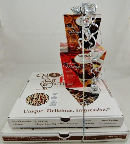 super combo chocolate pizza