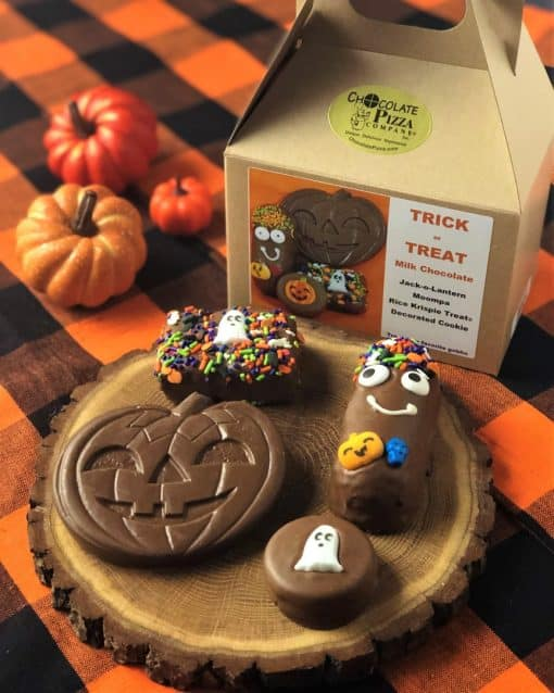 Halloween party ideas trick or treat tote for kids