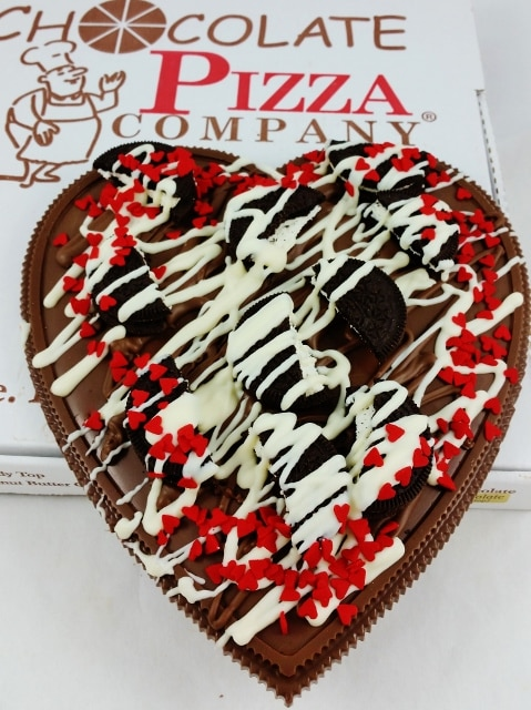 cookies heart pizza