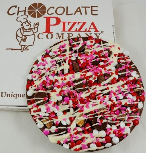 love valentines chocolate pizza avalanche