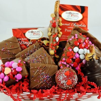 Valentines surprise gift basket