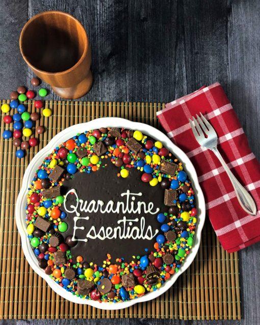 custom chocolate pizza quarantine essentials