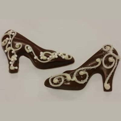 high heel wedding favor