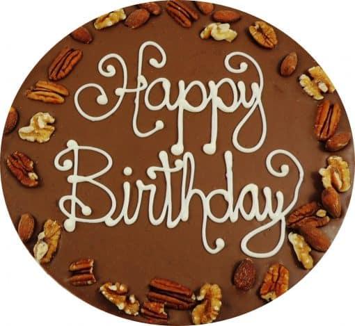 happy birthday chocolate