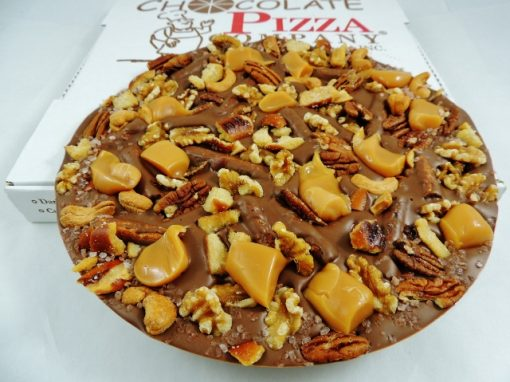 drumstick chocolate pizza