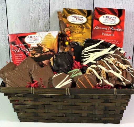 I love chocolate gift basket