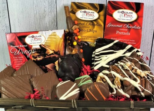 love chocolate gift basket