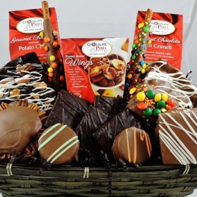 love chocolate gift baskets