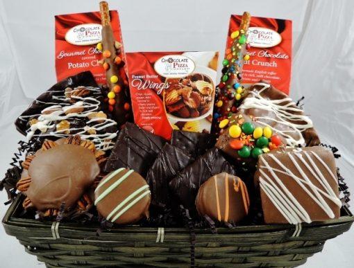 love chocolate gift baskets